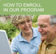 Enroll a senior in your life in our affordable senior care services.